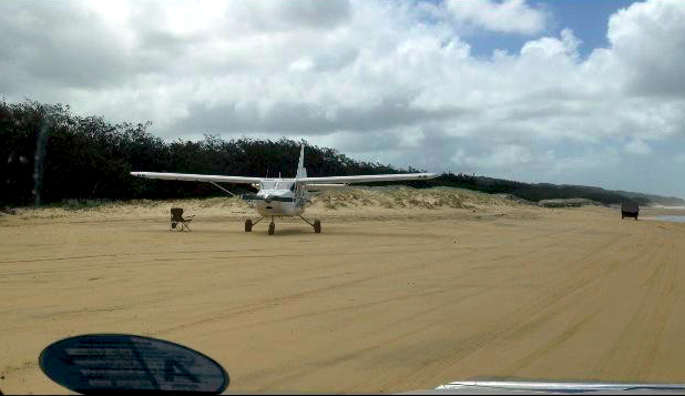 Look out for planes taking off and landing on the beach. From our awesome Facebook fan Stephen Andrews.