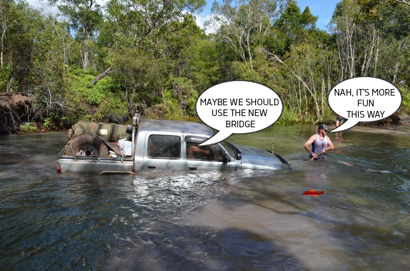 Some 4WD enthusiasts are concerned that the planned upgrades will take away the sense of adventure Cape York has to offer.