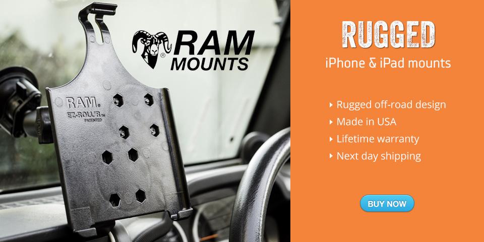 RAM mounts iPhone and Ipad Australia