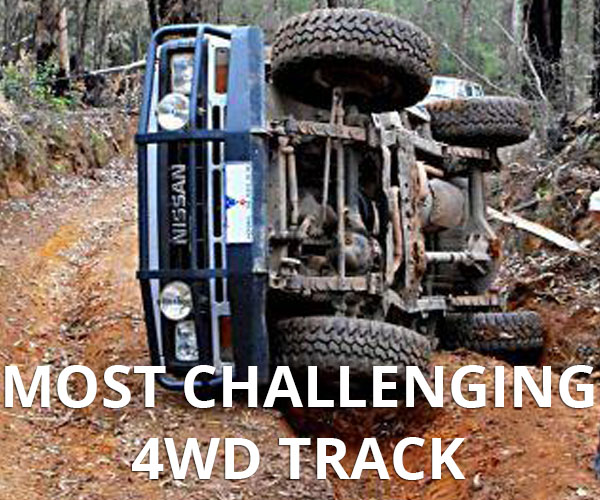 The votes are in check out which track was voted as the most difficult 4WD track in Australia