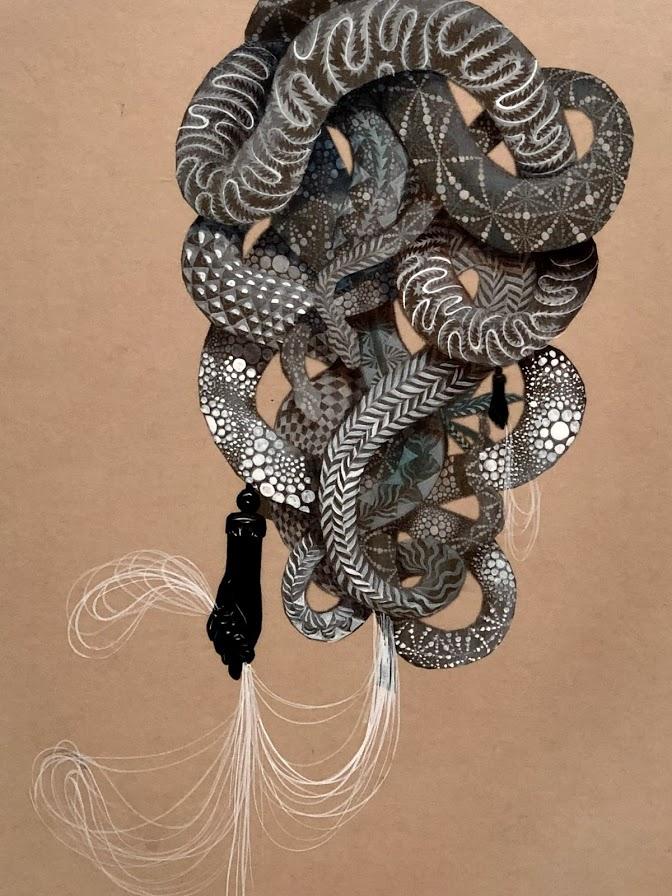 Firelei Báez snake fist holds hairs.jpg