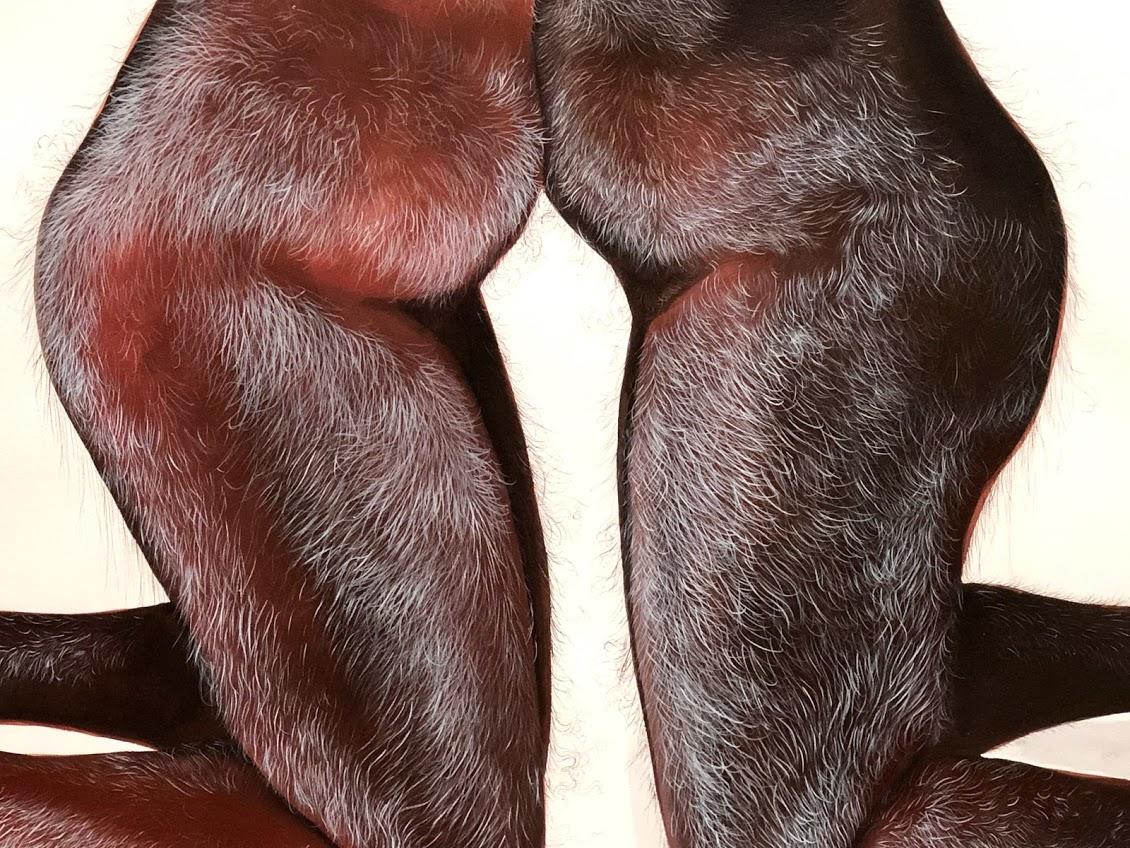 Legs of mythical creatures embracing Firelei Báez.jpg