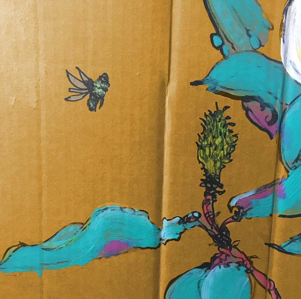Jonathan-Stemberger-bee-detail-on-cardboard.png
