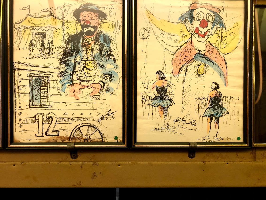 Circus Sarasota memorabilia Bobs Train Restaurant.jpg