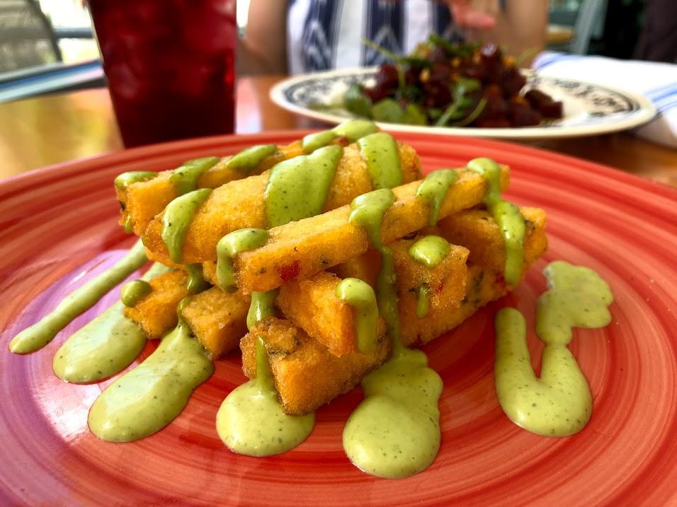 Polenta Fries at Leaf and Lentil Sarasota.jpg