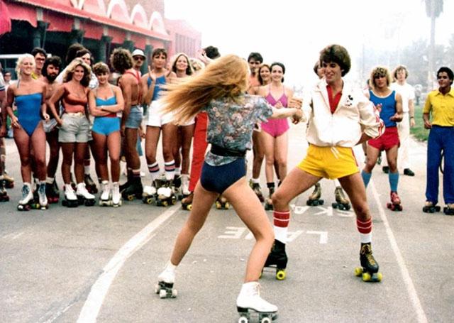 Roller skating 1979