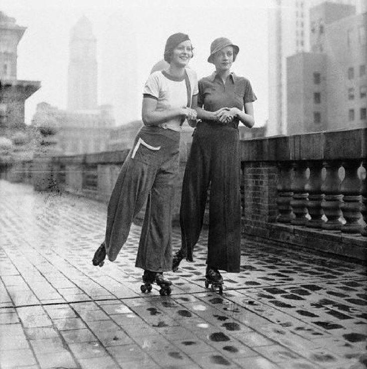 Skating in 1930