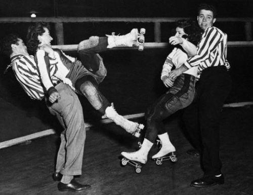 Roller Derby, 1958
