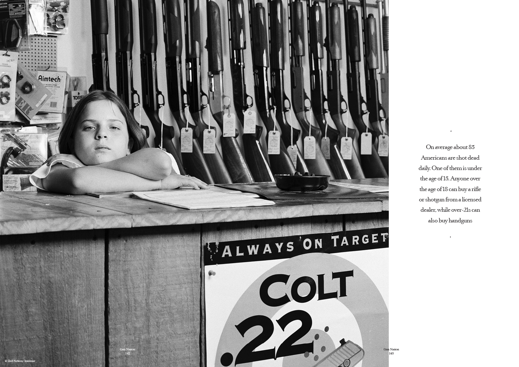 Gun Nation feature, photography by Zed Turner