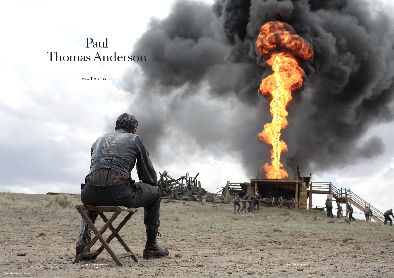 A still from Thomas Anderson's  There Will Be Blood , featuring Daniel Day Lewis as nefarious oil man Daniel Plainview