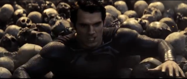 This is hard work: Superman (Henry Cavill) knows how we feel