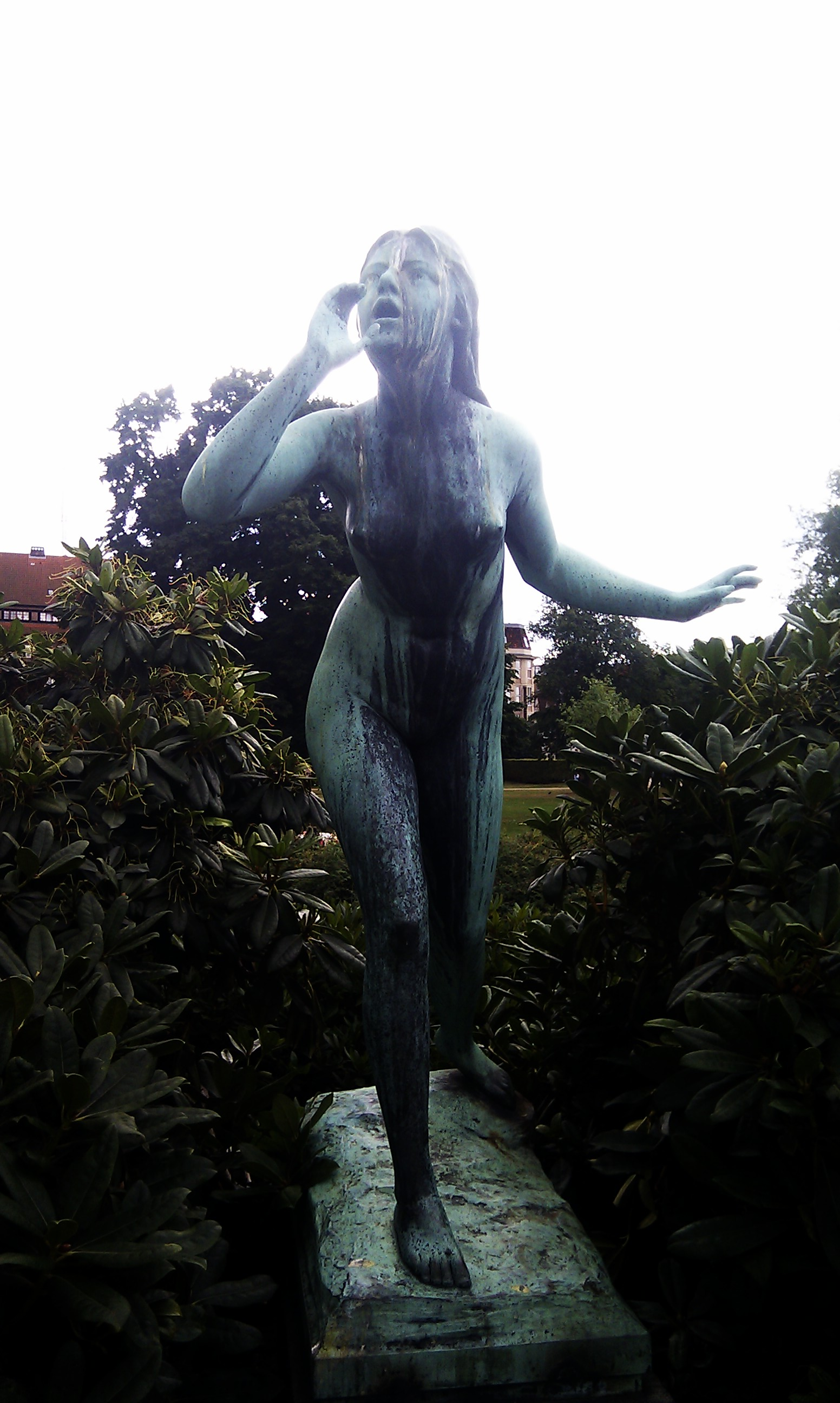 Statue at Kongens Have