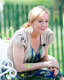 """5. """"It is impossible to live without failing at something, unless you live so cautiously that you might as well not have lived at all – in which case, you fail by default."""" – JK Rowling atHarvard Commencement in 2008 (photo by Daniel Ogren)"""