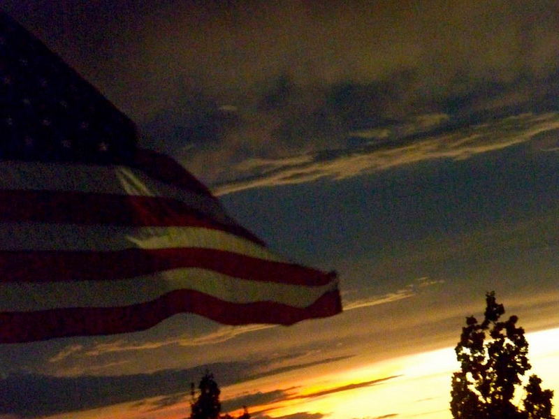 Photo taken on the 11th anniversary of 9/11 by Allegra Imhoff