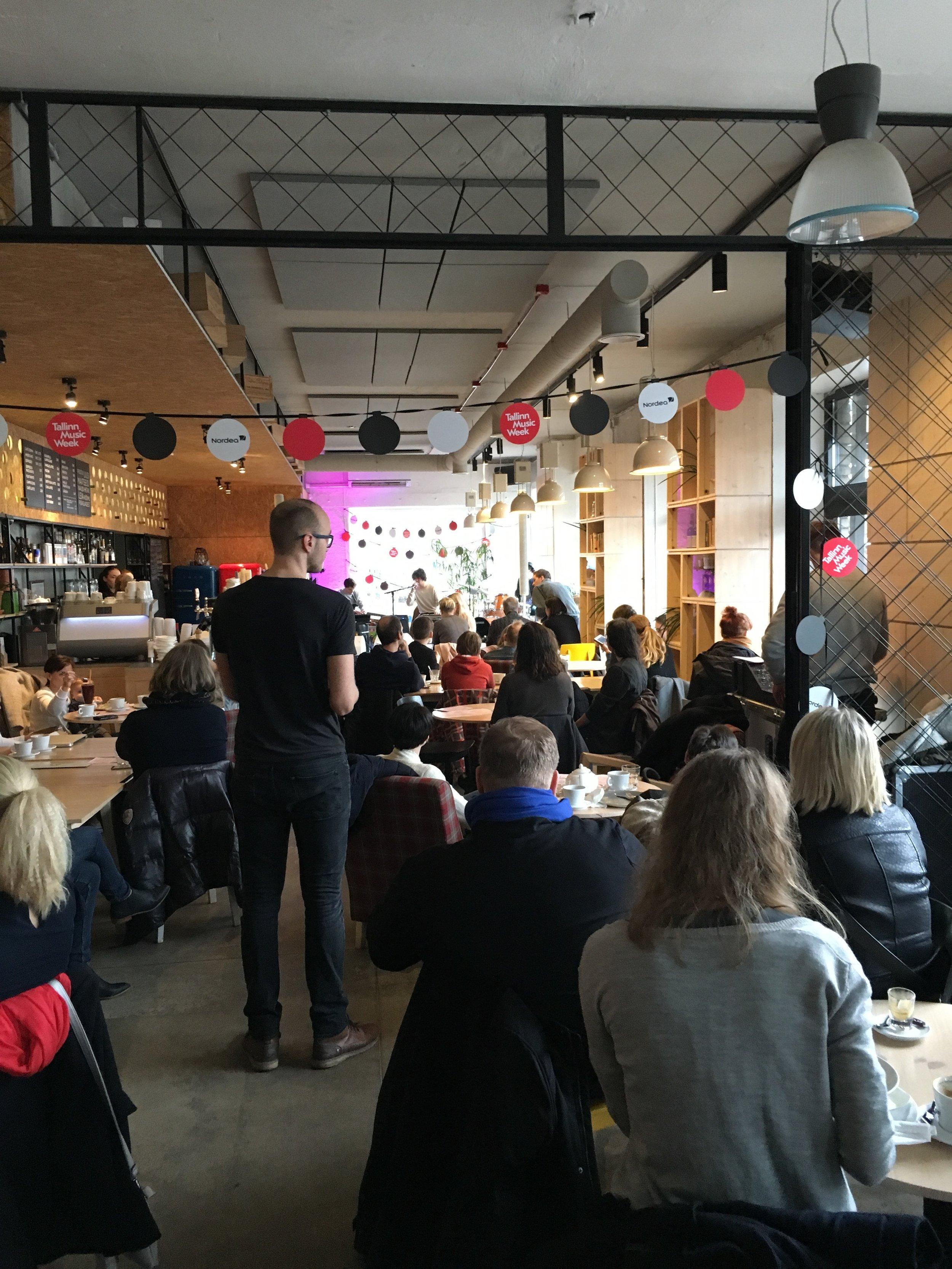 Reval Cafe, Telliskivi
