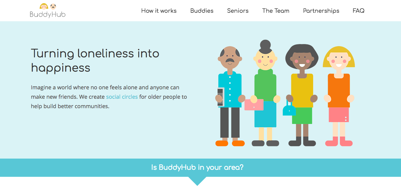 Buddyhub-website-Homepage