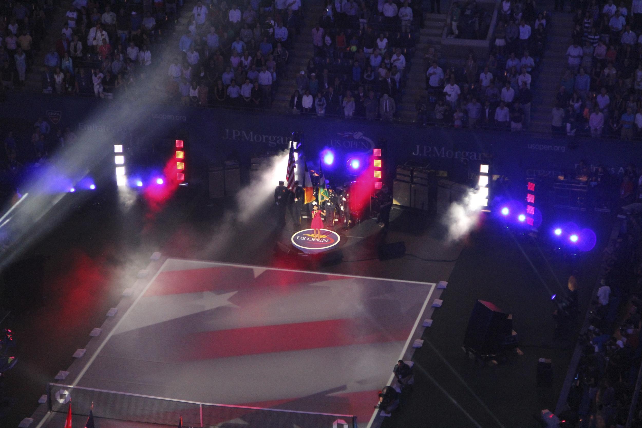 2013 USTA US Open ESPN Broadcast