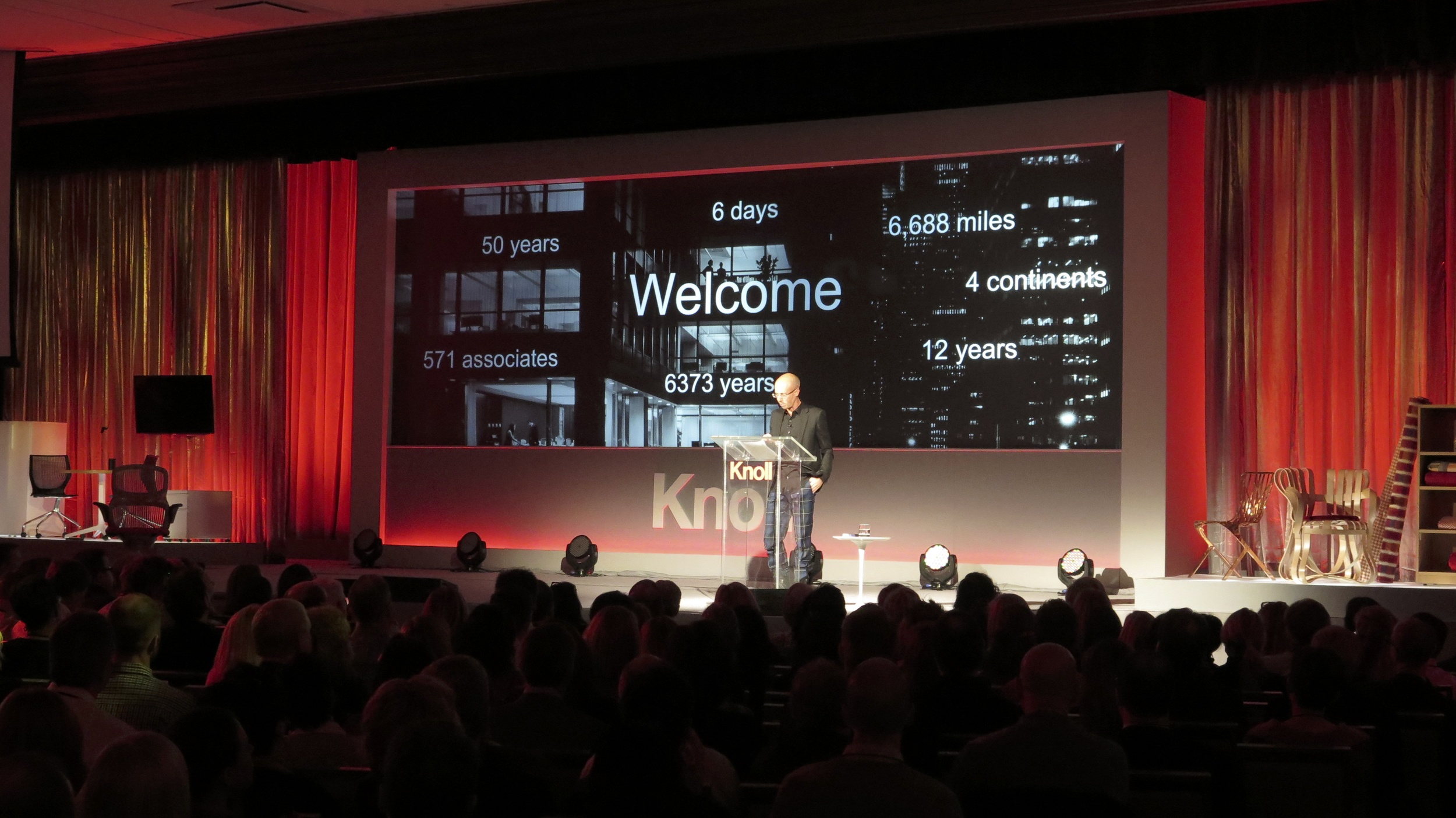 Knoll Corporate Meeting