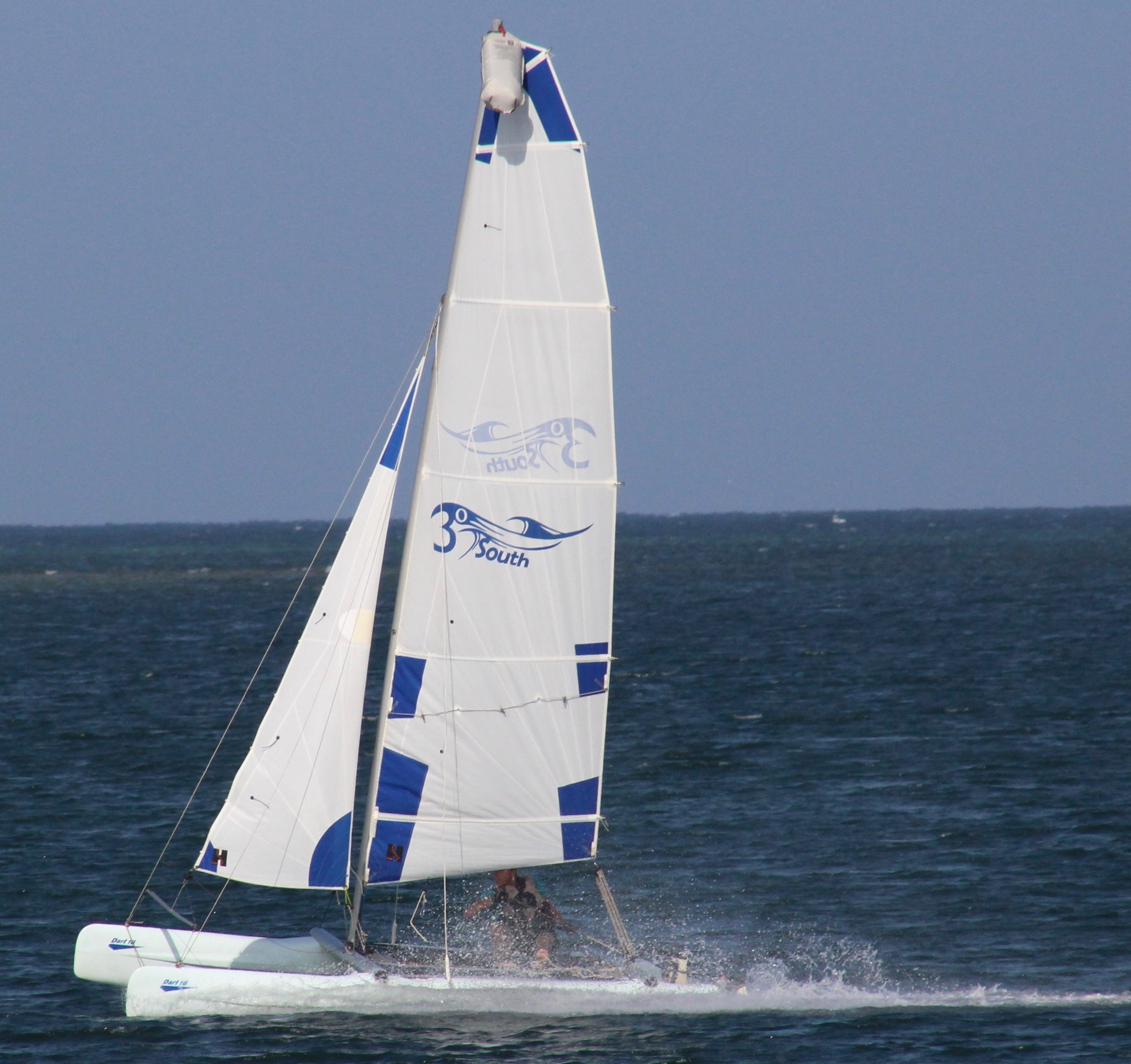 Blow out the cobwebs with a blast on a catamaran.