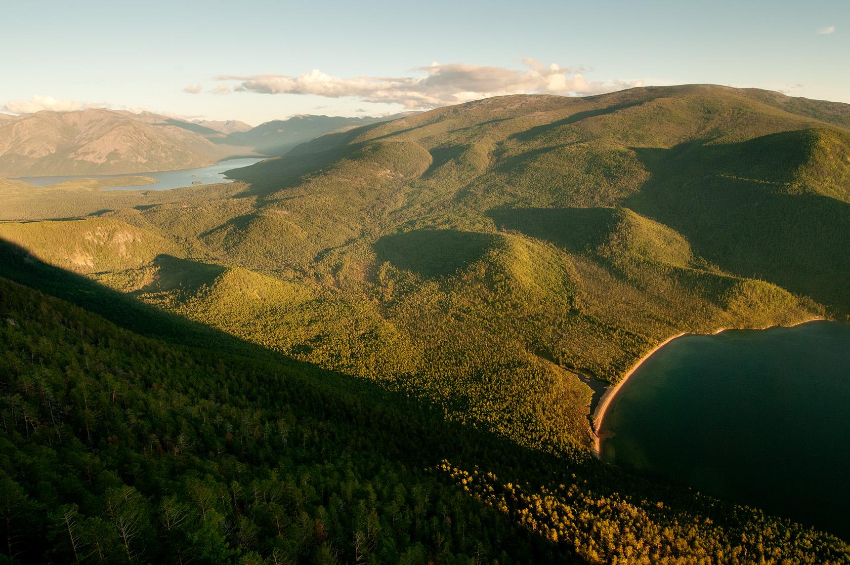 Bajkal a zátoka Ajaja