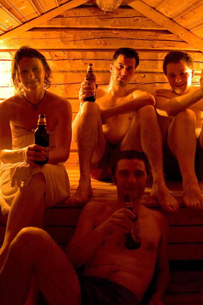 Sauna ve švéskémOdalgardenu