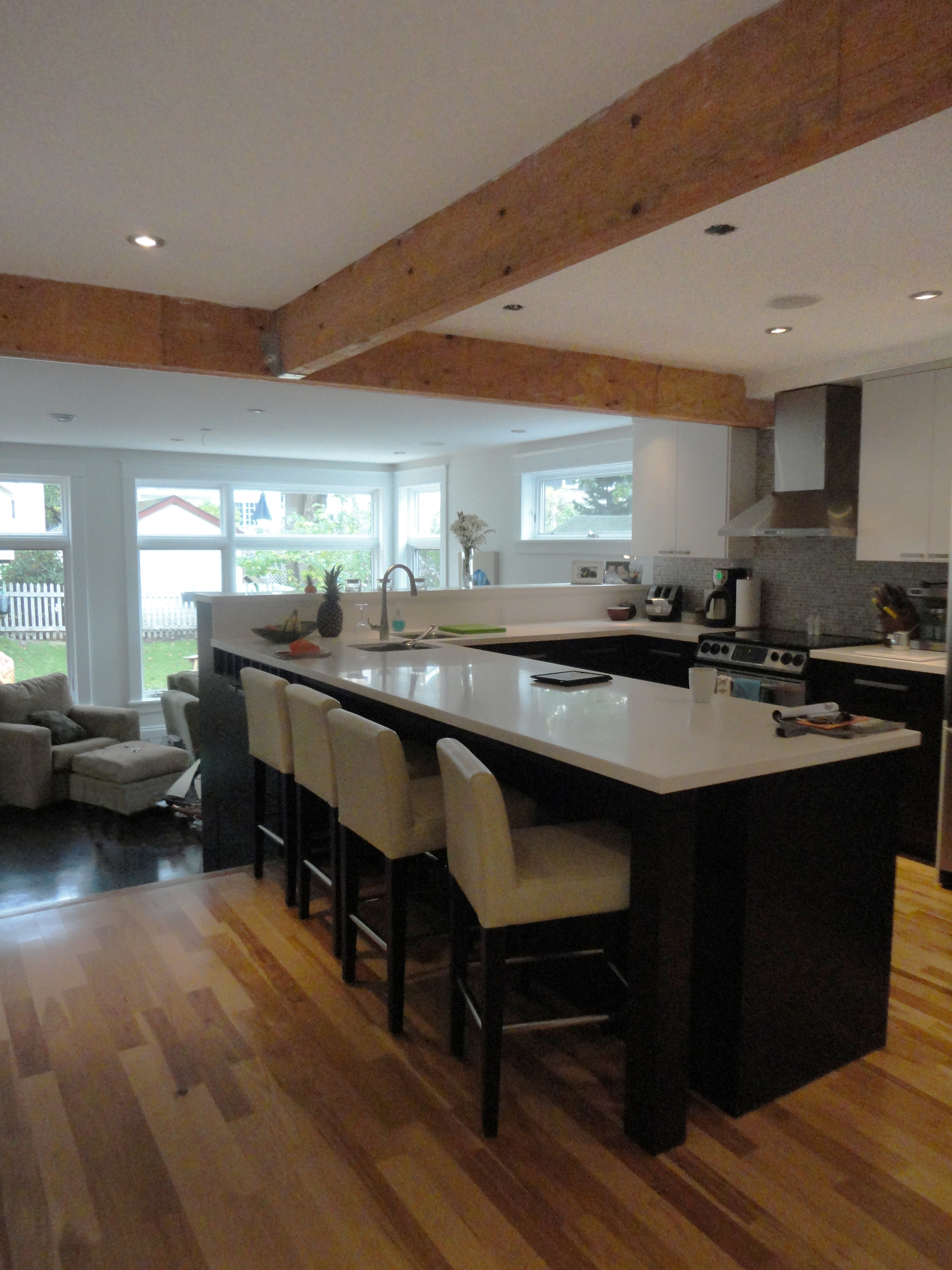 """The heart of this renovation, the new open concept kitchen connects the living spaces and has great views to yard.                                Normal    0                false    false    false       EN-US    JA    X-NONE                                                                                                                                                                                                                                                                                                                                                                                                                                                                                                                                              /* Style Definitions */ table.MsoNormalTable {mso-style-name:""""Table Normal""""; mso-tstyle-rowband-size:0; mso-tstyle-colband-size:0; mso-style-noshow:yes; mso-style-priority:99; mso-style-parent:""""""""; mso-padding-alt:0cm 5.4pt 0cm 5.4pt; mso-para-margin:0cm; mso-para-margin-bottom:.0001pt; mso-pagination:widow-orphan; font-size:12.0pt; font-family:Cambria; mso-ascii-font-family:Cambria; mso-ascii-theme-font:minor-latin; mso-hansi-font-family:Cambria; mso-hansi-theme-font:minor-latin;}"""