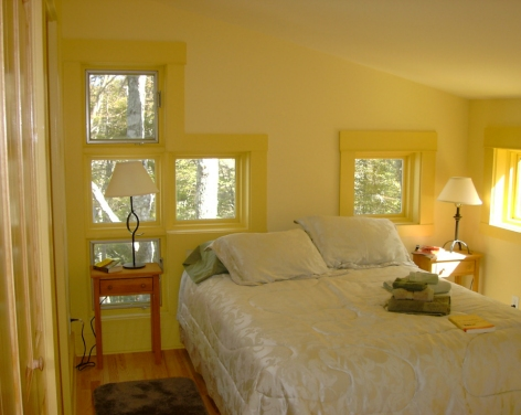 Window locations are specific to each room to allow for special views from every location.