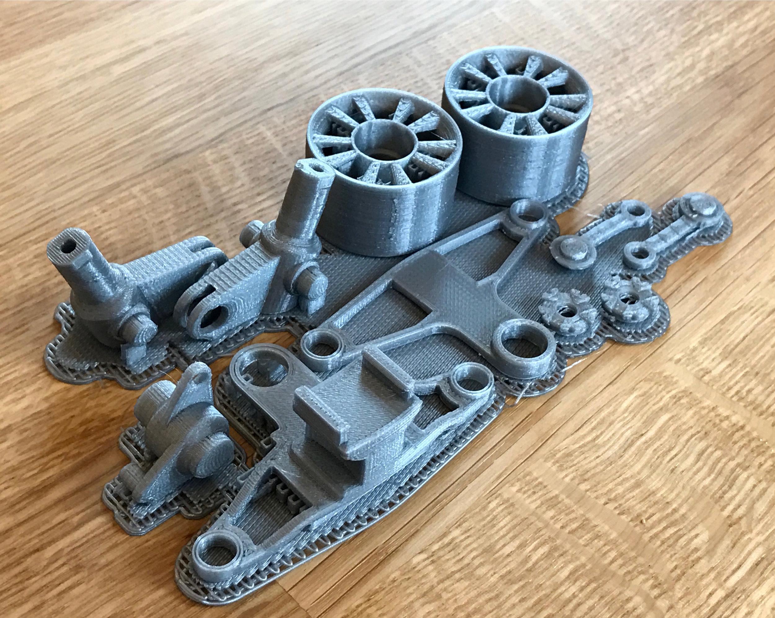 Tesla Steering Print