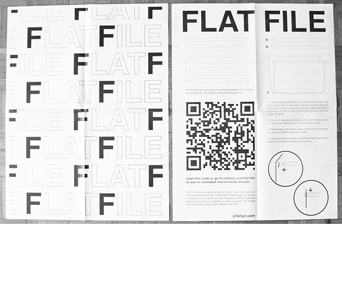 FLAT FILE Low-Impact packaging