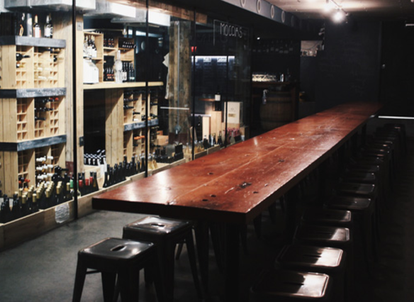 Salt Tasting Room - Cellar Gathering Space: 45 Blood Alley Square in Gastown