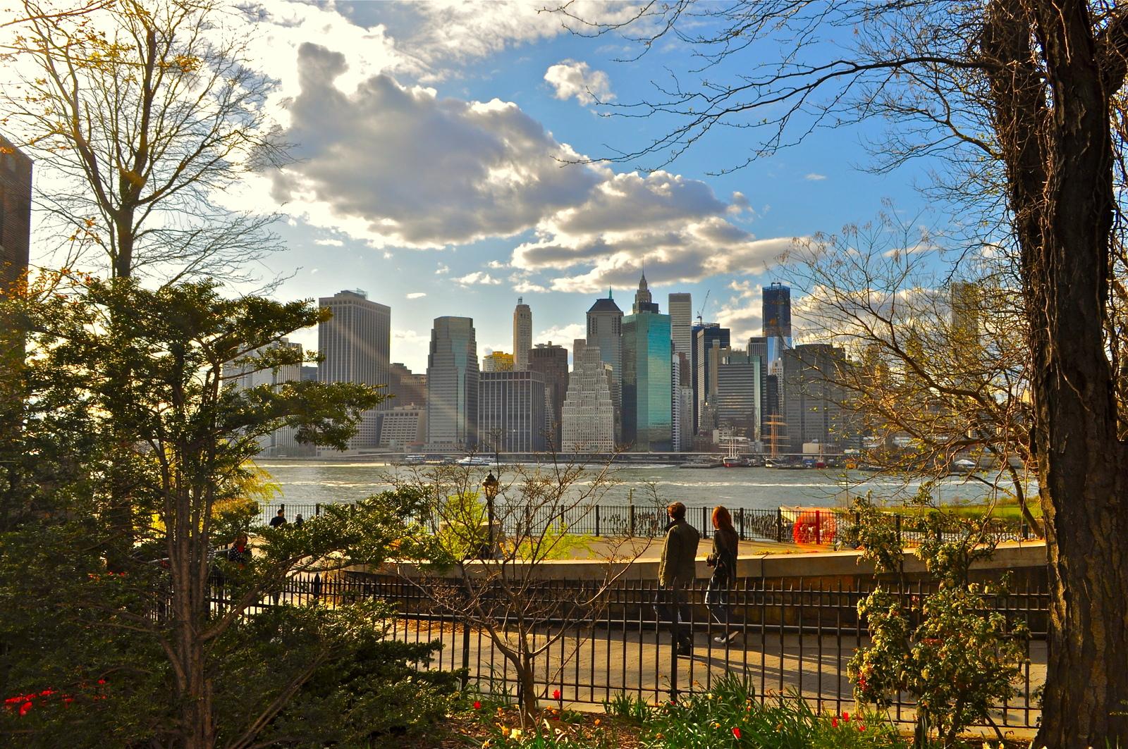 Photo: The Brooklyn Heights Promenade. Chuck Taylor/Brooklyn Heights Blog