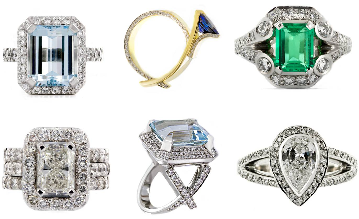 Forever Diamonds Rings
