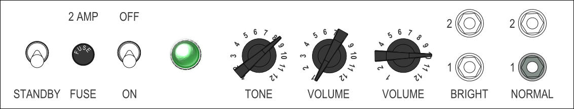 Tele Shuffle Rhythm Settings