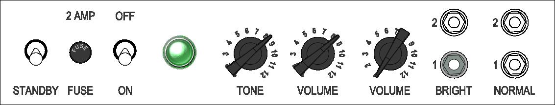 Strat Shuffle Rhythm Settings