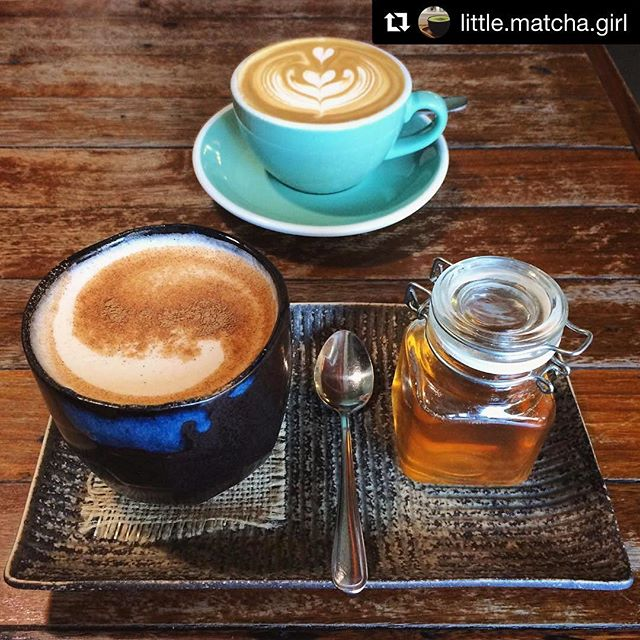 Our house made chai-la-lai sure is delicious! (And there's always a flat white available too 😉) #Repost @little.matcha.girl (@get_repost) ・・・ Chai-la-lai soy chai (AUD 4.4) from @wideopenroadcafe was so ridiculously AMAZING!! 😱😱😱 such rich flavour 😍 can't wait to be back again for more!!