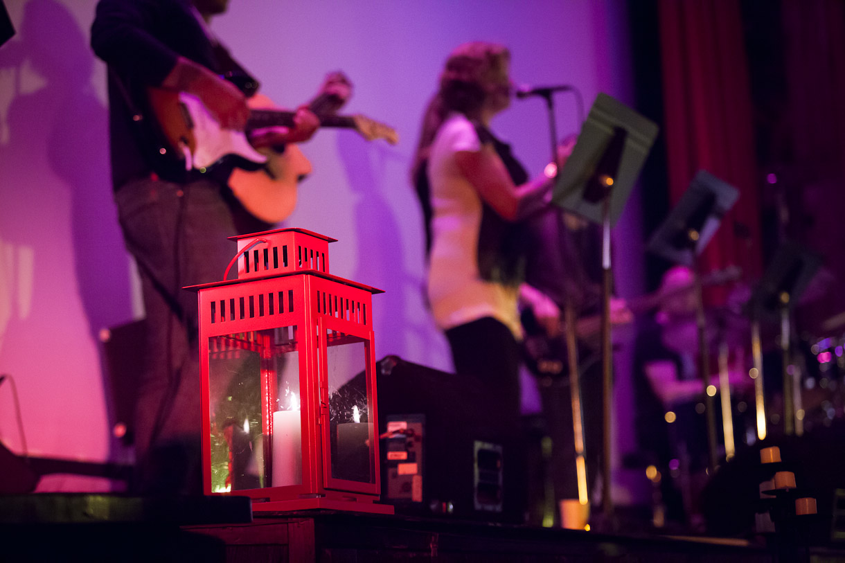 New lights in an old building. Photo: Sharon Barnes Photography.