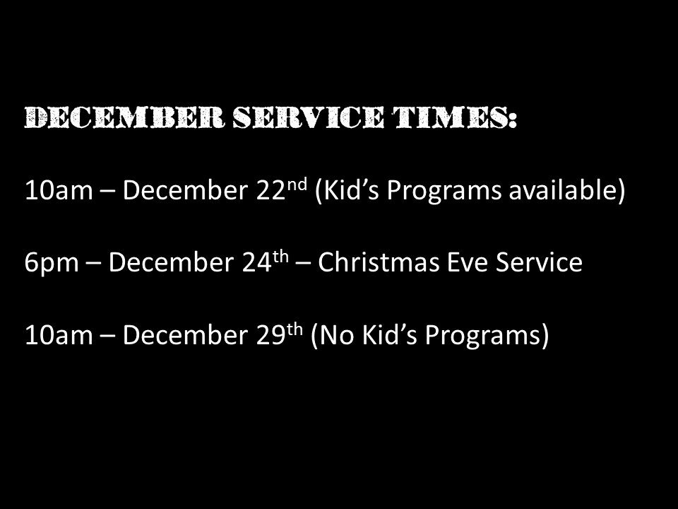 december service times.png