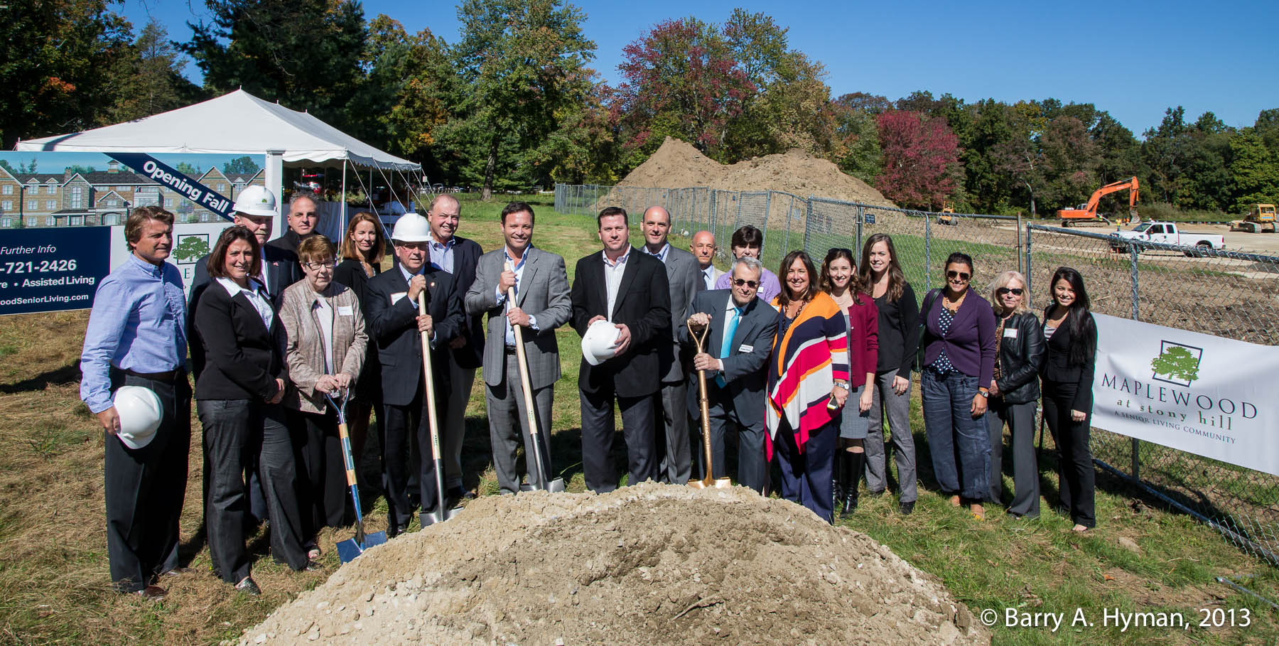 Maplewood at Stony Hill Groundbreaking by Barry A. Hyman