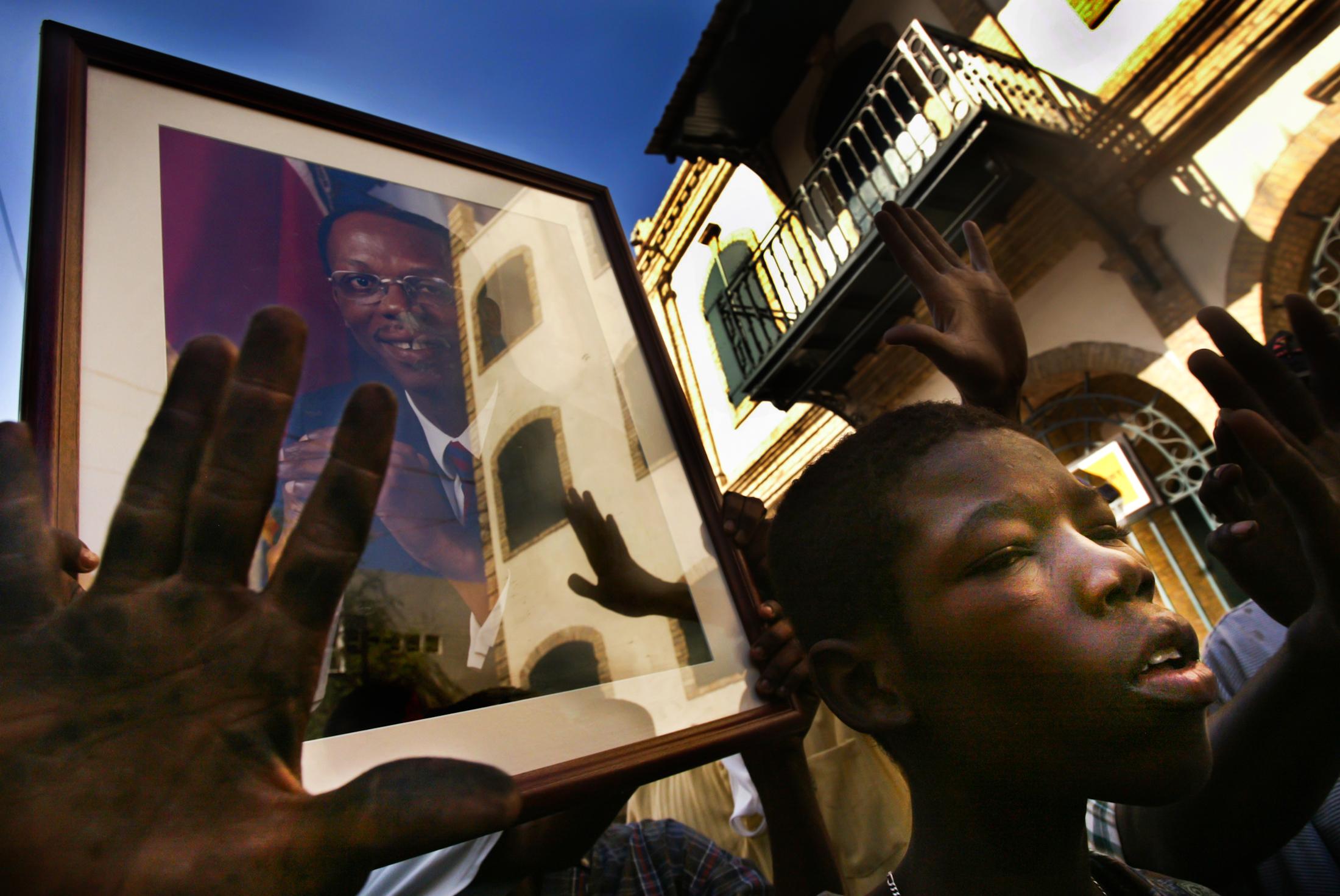 Coup d'é·tat in Haiti