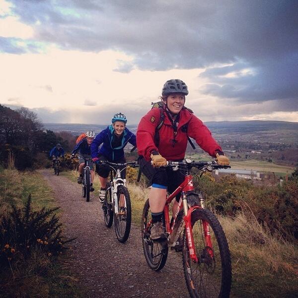 Exploring off road inverness