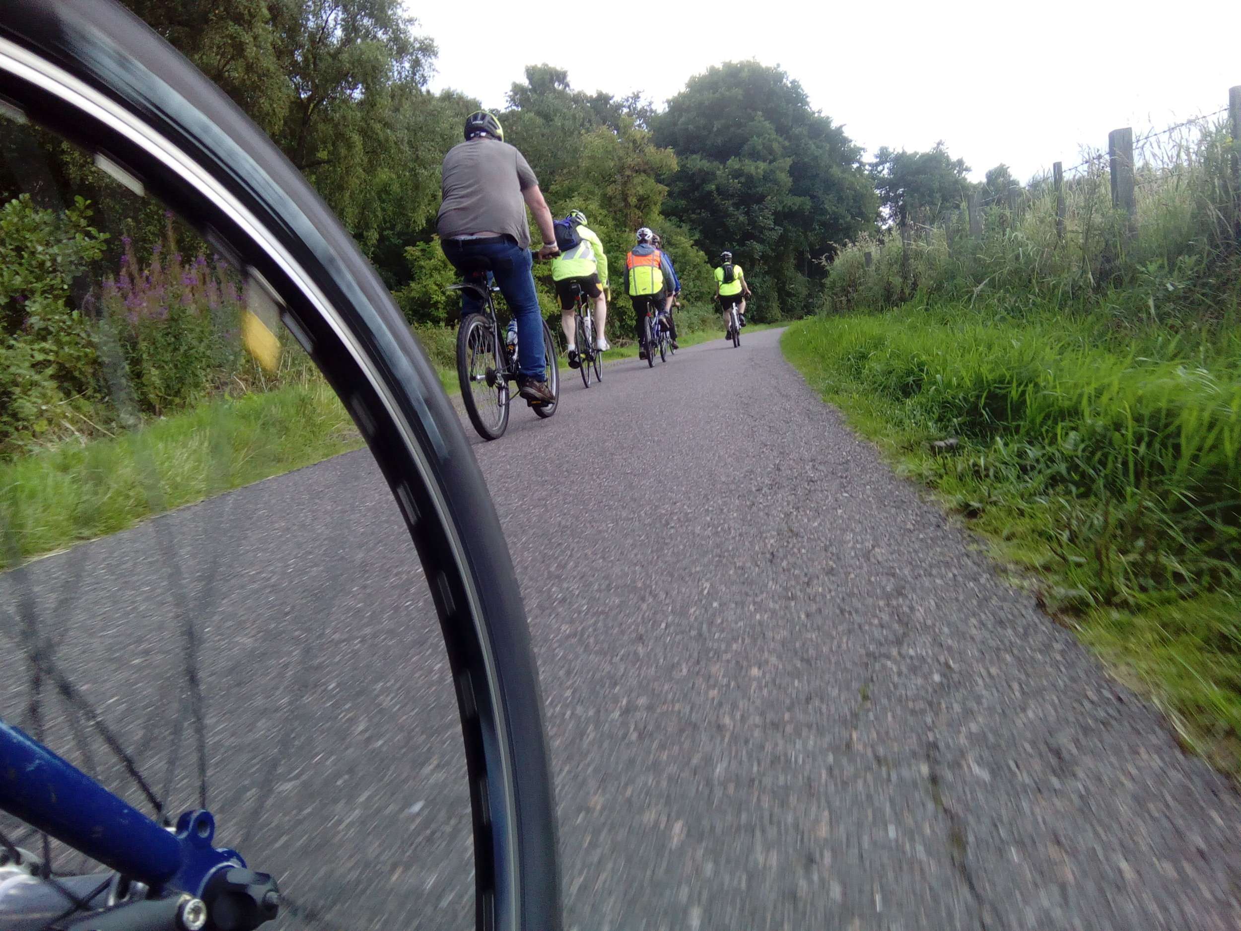 Velocity's Sunday Social Cycle - is an inclusive relaxed sociable cycle with no-one left behind. We go out for a friendly ride with a tea break along the way.