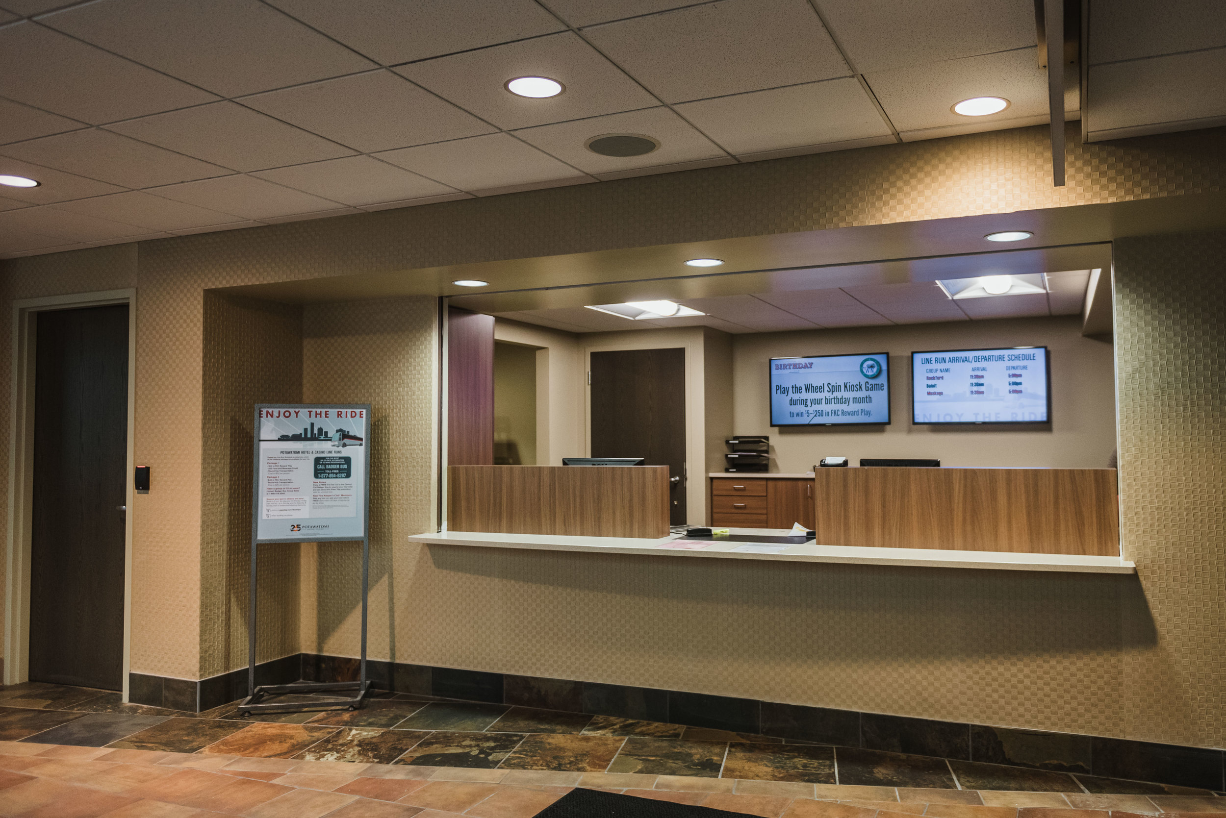 POTAWATOMI HOTEL & CASINO ADMINISTRATIVE OFFICE RENOVATION