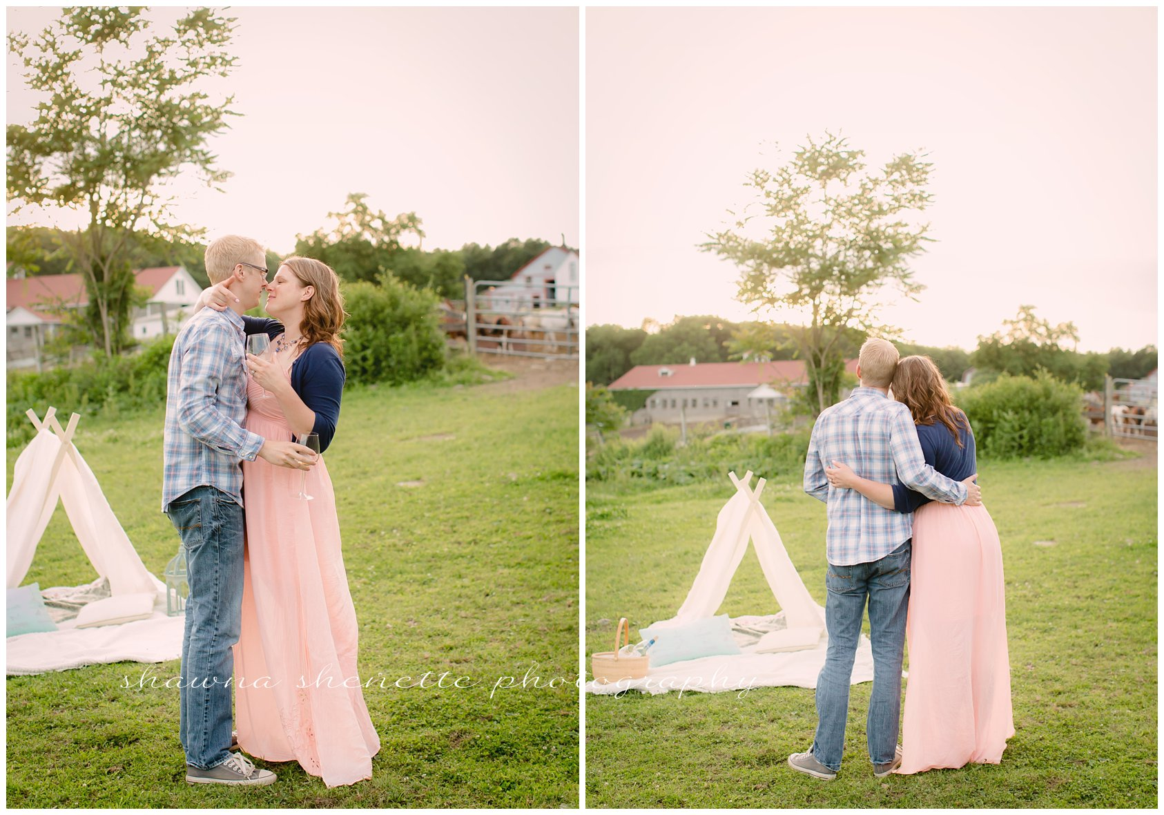 Massachusetts Engagement Wedding Photographer Worcester Millbury Couples Photos Best In Massachusetts Farm Engagement Photos_165
