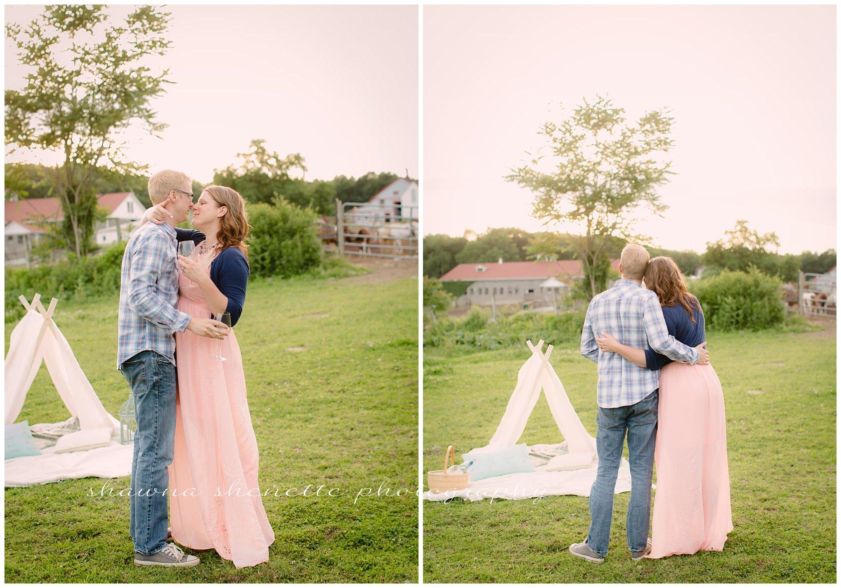 Massachusetts Engagement Wedding Photographer Worcester Millbury Couples Photos Best In Massachusetts Farm Engagement Photos_165