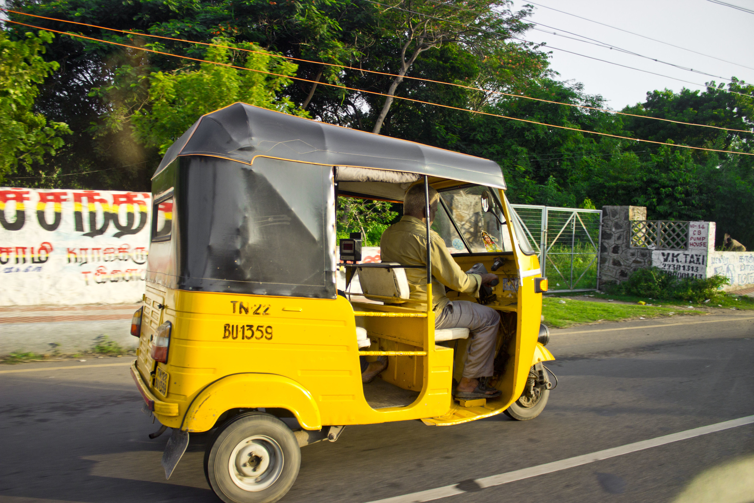 Just your average auto-rikshaw from India