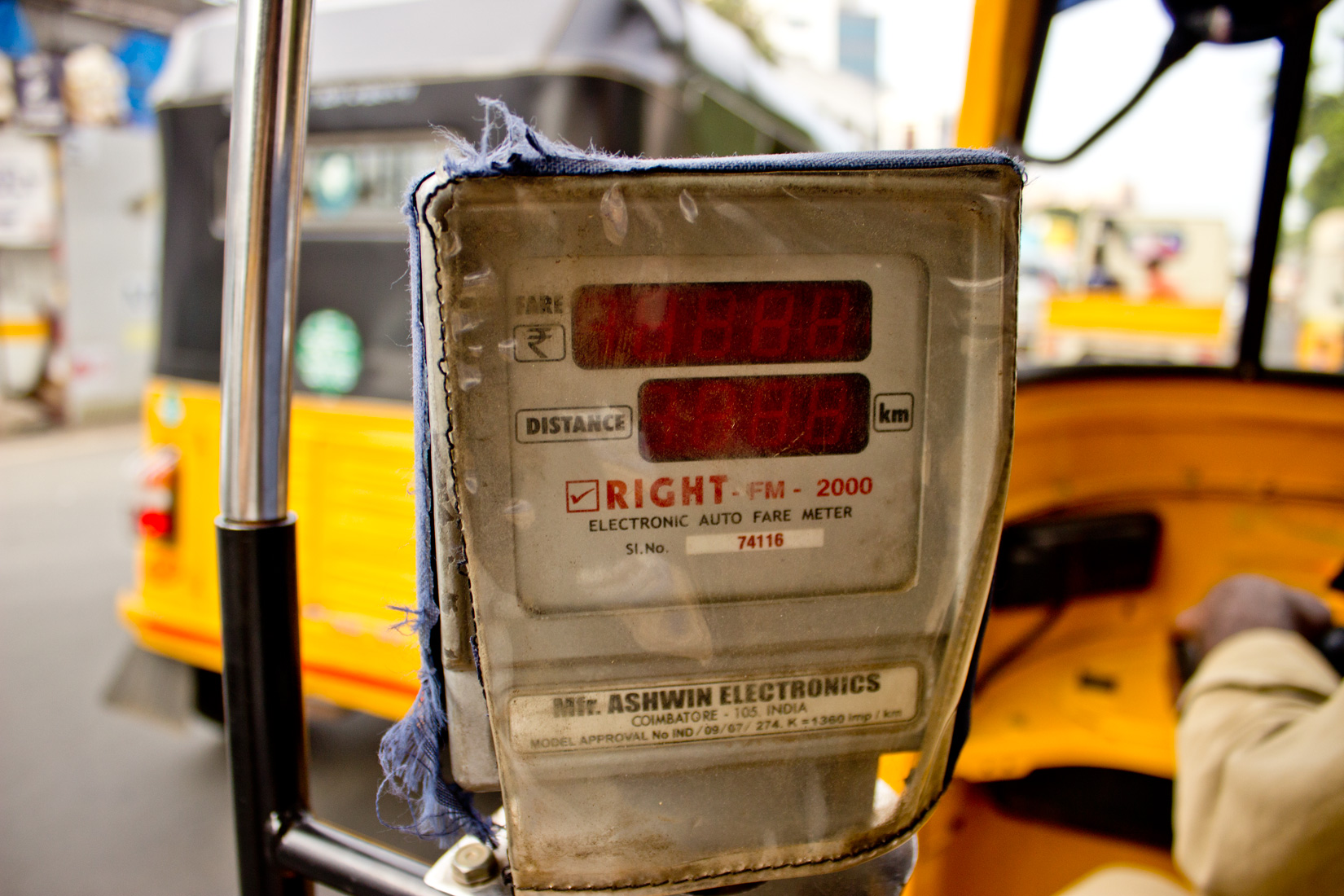 Live and Die by the meter, inside the Indian auto-rikshaw