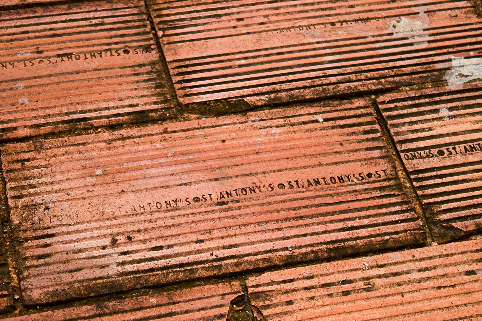 St. Anthonys bricks in Chennai Market, India