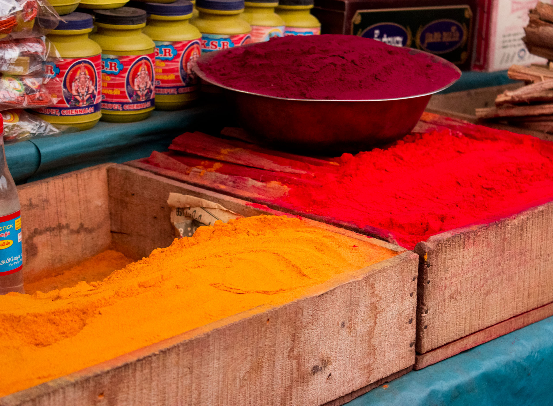Powders of the Rainbow, Haldi and Kunkoo