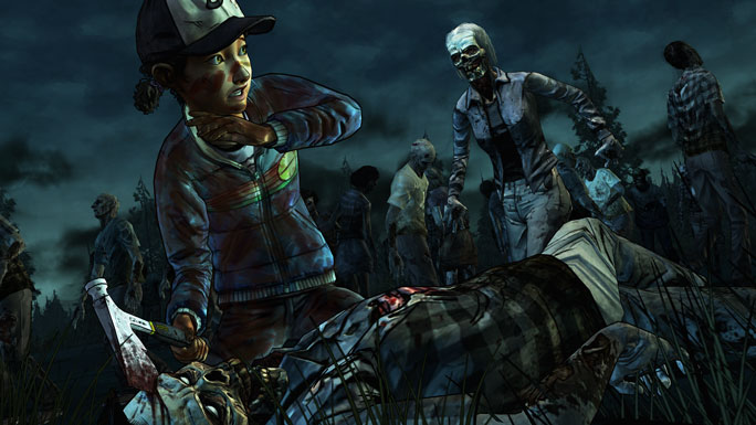 Publisher(s): Telltale Games  Developer(s): Telltale Games  Consoles: PC/MAC (Steam), Xbox 360, PS3, Vita  Genre: Survival Horror Point & Click  Release Dates: Steam/PS3: May 13th, Xbox 360: May 14th  Player(s): Single  Rating M (Blood&Gore, Intense Violence, Strong Language)