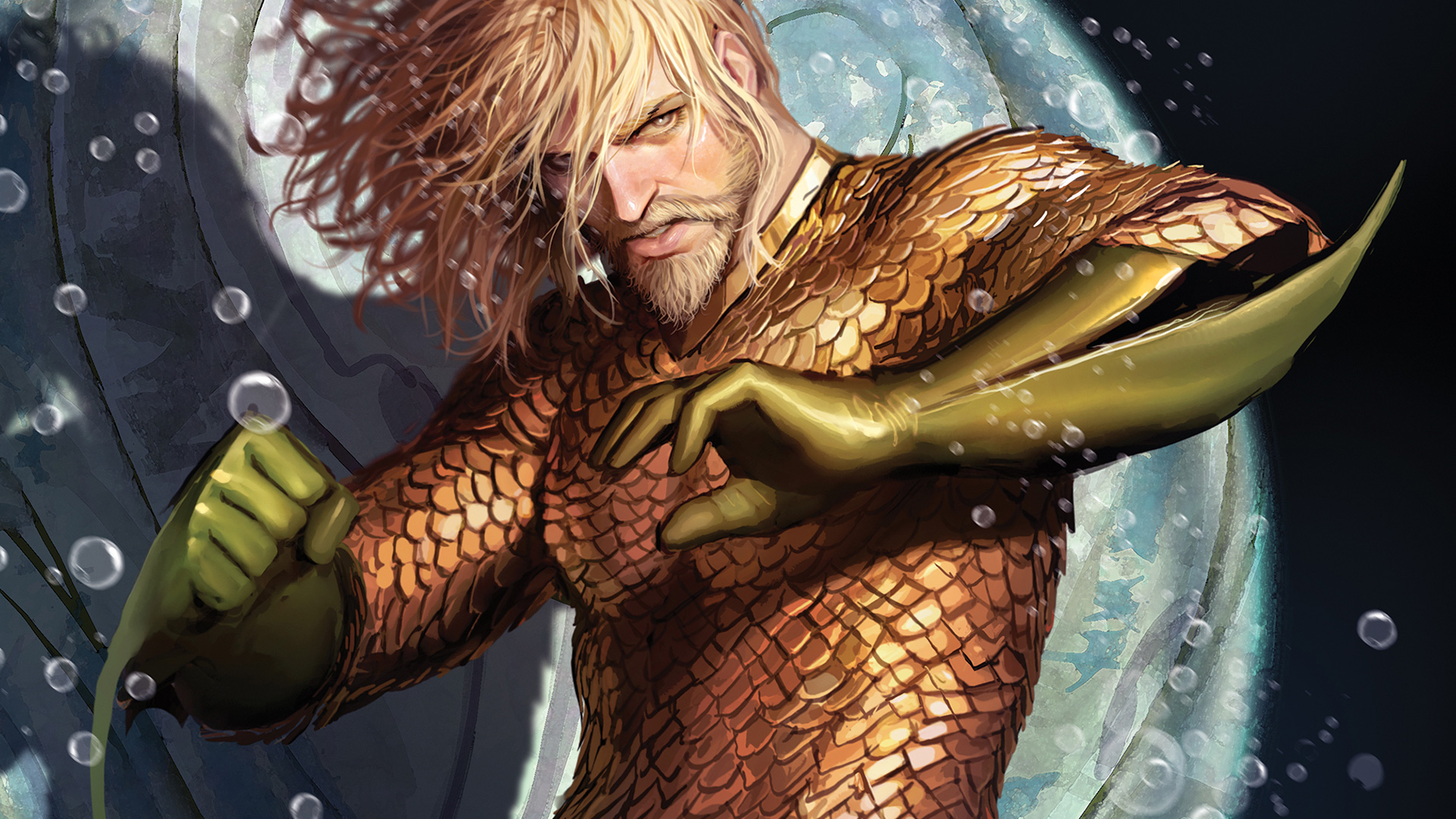 5 OUT OF 5 - This is the start of what looks to be a fantastic story arc. Abnett and Sejic make a great creative team that pushes Aquaman forward and have come out of the gate swinging. This is a must-read for any Aquaman fans and a great place to start for anyone looking to jump in.